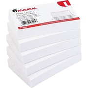 "Universal® 3"" x 5"" Unruled White Index Cards, 500/Pack"
