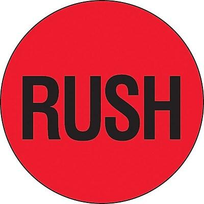Shipping Label, Rush, 2