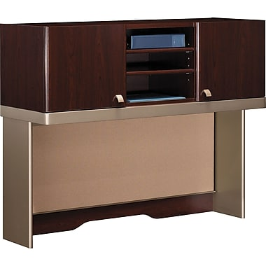 Bush Business Furniture Quantum 48W Hutch (Tall), Harvest Cherry (QT1485CS)