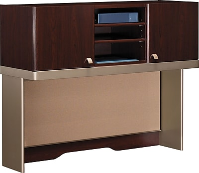 Bush Business Furniture Quantum 48W Hutch (Tall), Harvest Cherry (QT1485CS)