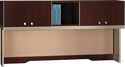 Bush Business Furniture Quantum 72W Hutch (Tall), Harvest Cherry (QT1726CSKFA)