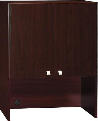 Bush Business Furniture Quantum 30W Hutch (Tall), Harvest Cherry (QT231FCS)
