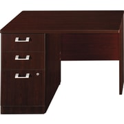 Bush Business Furniture Quantum 42W LH Single Pedestal Return, Harvest Cherry (QT6415ACSFA)