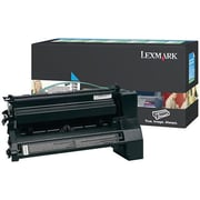 Lexmark Cyan Toner Cartridge (C782X1CG), Extra High Yield, Return Program