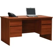 Ameriwood® Tiverton Executive Desk, Expert Plum