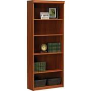 Ameriwood Tiverton Five-Shelf Bookcase, Expert Plum
