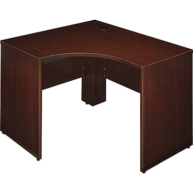 Bush Business Furniture Quantum 48W X 42D RH Corner, Harvest Cherry (QT0465ACS)