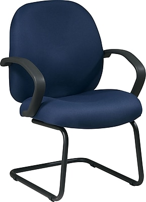 Office Star ™, Distinctive Fabric Guest Chair, Blue