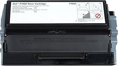 Dell Toner Cartridge, 7Y605/RM950, Black