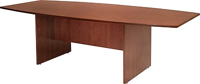 Regency® Conference Room Groupings in Cherry Finish, Boat Table, 29x95x43