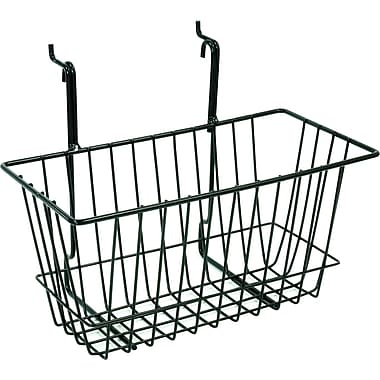 Slatwall/Gridwall Wire Baskets, 12