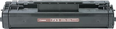 Canon® FX3 Toner Cartridge, Black