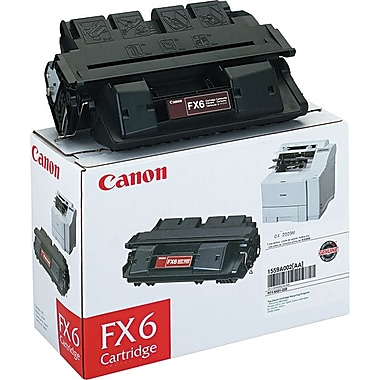Canon® FX-6 Black Toner Cartridge (1559A002AA)
