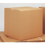 "ICONEX/NCR Brown Kraft Corrugated Cartons, 6"" x 6"" x 6"", 25-Pack, (69666)"