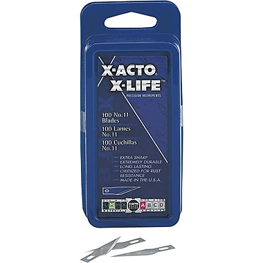 X-Acto™ Knife Replacement Blades, 100/Box