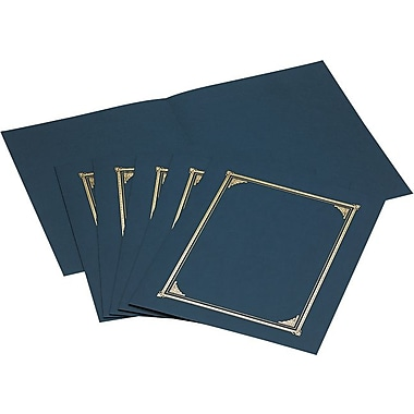 Geographics Linen Certificate Covers, 12-1/2