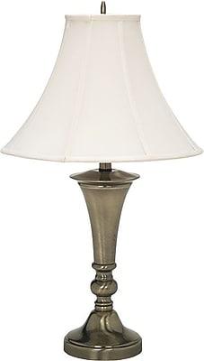 Ledu Incandescent Table Lamp, Antique Brass