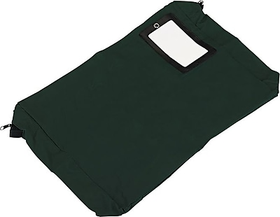 PM Company Expandable Reusable Transit Sack, Dark Green, 4