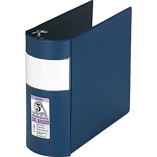 samsill heavy duty curved spine 3 ring binder reference binder with