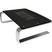 "Allsop® Redmond Monitor Stand, 14 5/8"" x 11"" x 4 1/4"", Black/Gray/Silver (29248)"