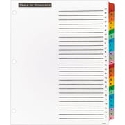 Avery Office Essentials AVE11677 Index Divider, Multicolor, A Z by