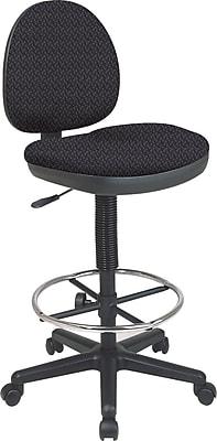 Office Star Custom Drafting Chair, Ash