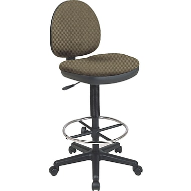 Office Star Custom Drafting Chair, Gold Dust