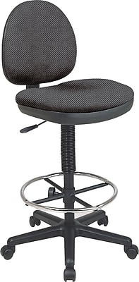 Office Star Custom Drafting Chair, Shale
