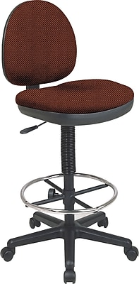 Office Star Custom Drafting Chair, Wine