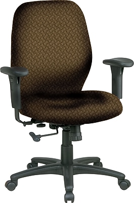 Office Star® Fabric Managers Office Chair, Nugget, Adjustable Arm (3121-220)