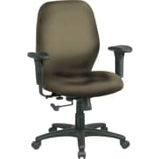 Office Star™ Fabric Managers Office Chair, Gold Dust, Adjustable Arm (3121-294)