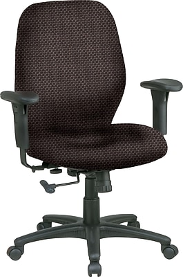Office Star® Fabric Managers Office Chair, Taupe, Adjustable Arm (3121-316)