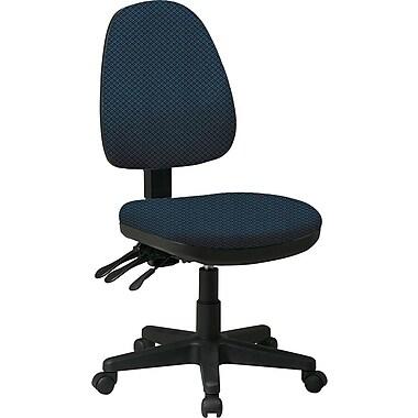 Office Star Custom Ergonomic Fabric Armless Chairs