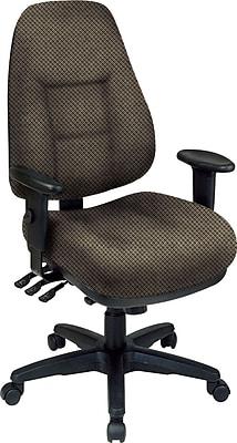 Office Star® Super Ergonomic High-Back Chair, Gold Dust