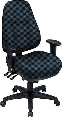 Office Star® Super Ergonomic High-Back Chair, Blue Galaxy