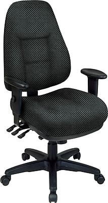 Office Star® Super Ergonomic High-Back Chair, Jet
