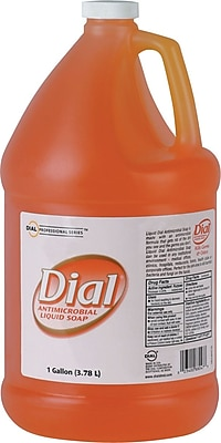 Dial Professional Gold Antimicrobial Soap, Floral Fragrance, 1gal Bottle