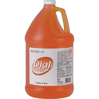 Dial® Gold Antimicrobial Hand Soap Gel, Refill, 1 gal.