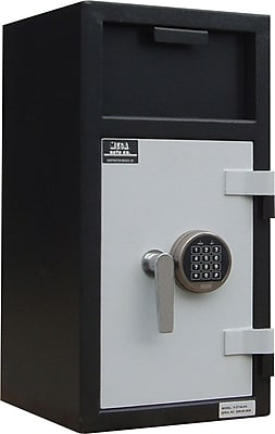 Mesa™ 1.3 Cubic Ft. Depository Safe with Interior Locker with Standard Delivery