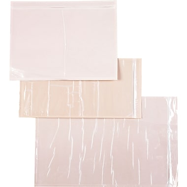 Packing List Envelopes, Clear-Face Style, 4-1/4 x 9