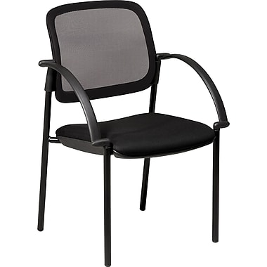 Office Star™ Screen Back Mesh Guest Chair with Mesh Seat