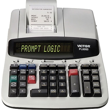 Victor® PL8000 Thermal Printing Calculator