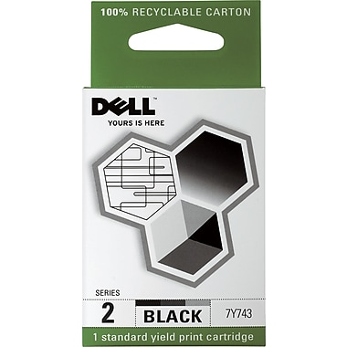Dell Series 2 Black Ink Cartridge (7Y743)