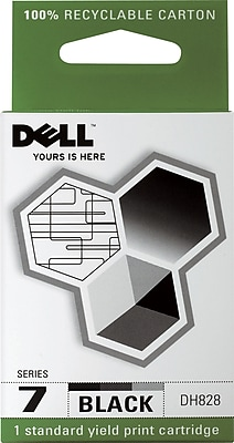 Dell Series 7 Black Ink Cartridge (DH828)