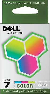 Dell Series 7 Color Ink Cartridge (DH829)