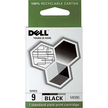 Dell Series 9 Black Ink Cartridge (MK990)