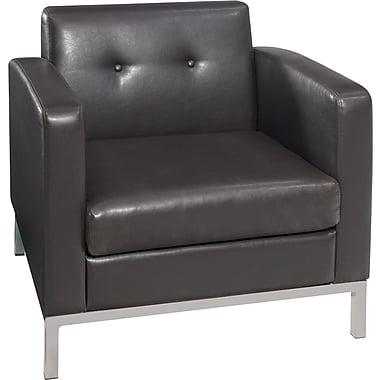 Avenue Six Wall Street Chair, Espresso