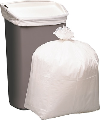 Staples Trash Bags, 13 Gallon, 80 Bags/Box