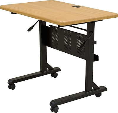 Balt®36'' Rectangular Flip Top Training Table, Maple (89870)