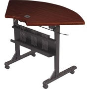Balt®46'' Specialty Flip Top Training Table, Mahogany (89881)